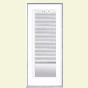 Mobile Exterior Doors With Glass Mini Blinds Blinds