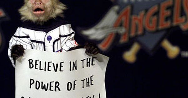 The Rally Monkey Los Angeles Angels Of Anaheim Angels Baseball Los Angeles Angels Anaheim Angels