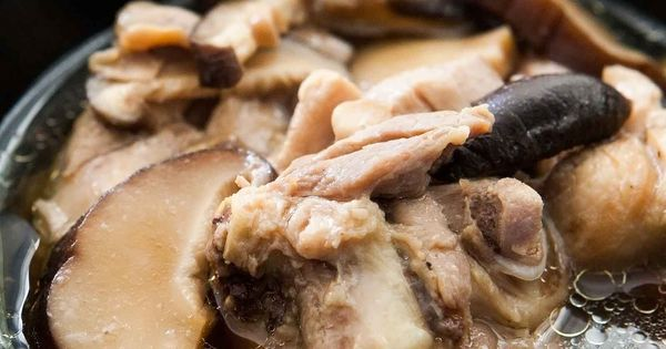 Chicken Soup With Ginger And Shiitake Mushrooms Recipe ...