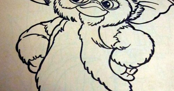 Gremlins 2 Coloring Book Coloring Pages Pinterest
