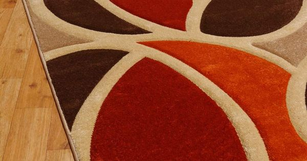 Burnt Orange Area Rug Living Room Pinterest Burnt