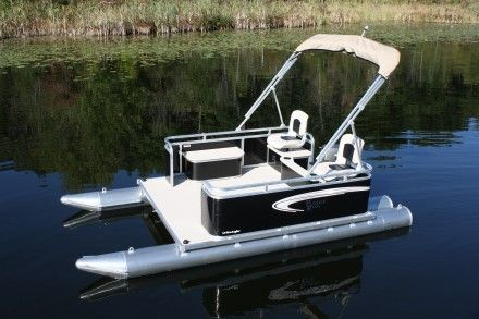 Mini pontoons paddle king pontoon boat dealers for for Fishing paddle boat