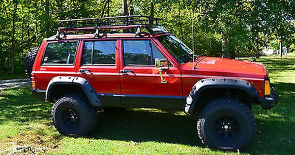 Ebay Jeep Cherokee Country 1993 Jeep Cherokee Xj Lifted Modified