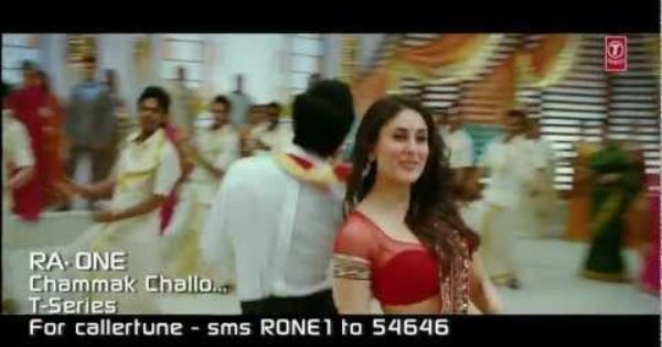Chammak Challo Ra One Video Song Shahrukh Khan Kareena Kapoor Bollywood Music Videos Shahrukh Khan Bollywood Music