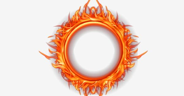 Fire Flame Effect Circle Frame Border Decorative Creative Fire Effects Png Transparent Clipart Image And Psd File For Free Download Logo Design Art Fire Icons Circle Frames