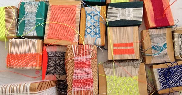 Weaving is back! weven weaving diy crafts handwerken