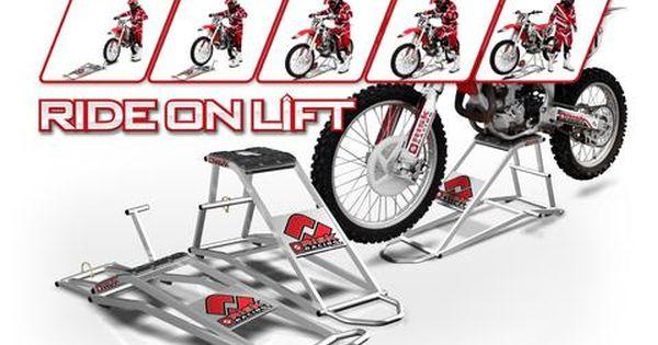 A-pro Cross Bike paddock Stand Lift Garage Motorcycle Motorcross Trials Heavy Duty