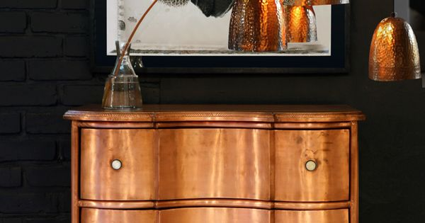copper chest of draws at weylandts kupfer copper. Black Bedroom Furniture Sets. Home Design Ideas