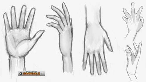 How To Draw Hand Dessin Peinture Art
