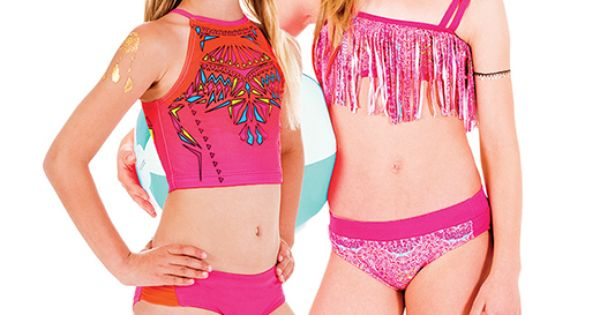 Limeapple girls swimwear rashguard