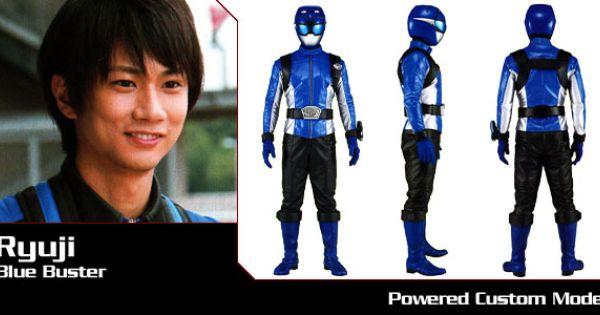 Tokumei Sentai Go-Busters - Ryuji (Blue Buster) - Super ...