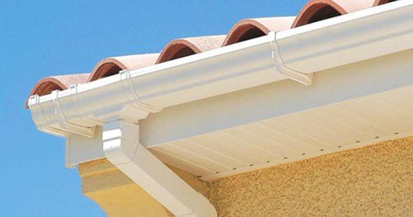 Gouttiere Pvc Planche De Rive Mep Lambris Protege Panne Avant Toit Gouttieres Toiture