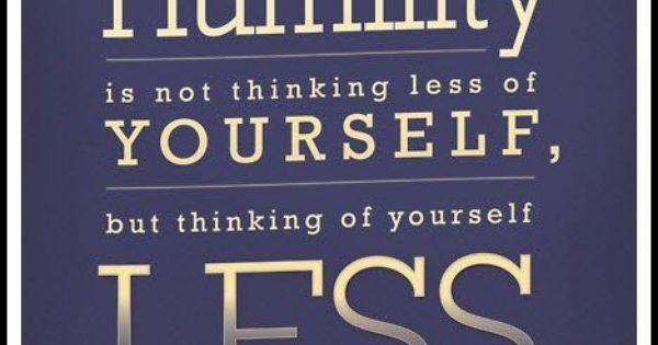 CS Lewis quote Humility