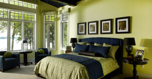appealing blue green bedroom decor | Bedroom Photos Navy Blue And Lime Green Bedrooms Design ...
