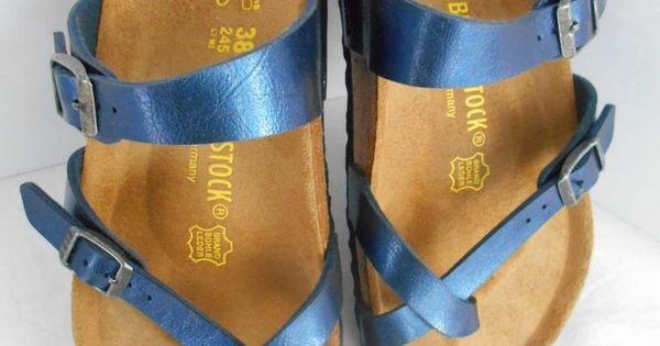 Womens Birkenstock Mayari R 71 2 Leather Thong Sandals
