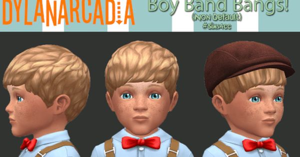 Boy Band Hair Converted For Toddlers By DylanArcadia For