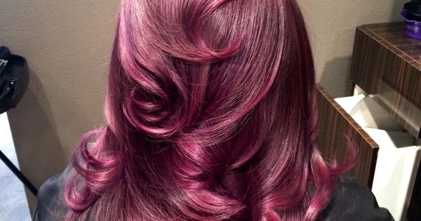 Purple Hair By Kelsey Sorenson Hairs N Things