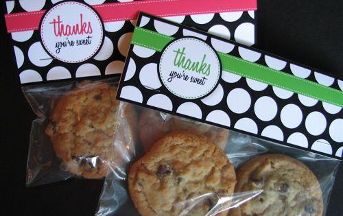 FREE printable treat bag tags!