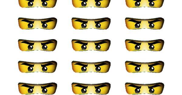 printable ninjago eyes - | event | | pinterest