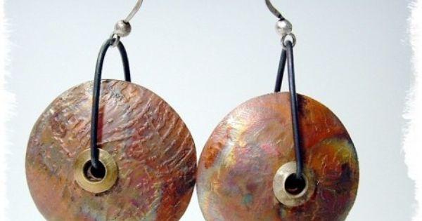 Metal Lentils Precious Metal Clay Jewelry Metal Clay Jewelry Metal