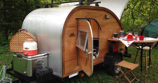 Teardrop Trailer Kit 8 Cubby : Big woody teardrop camper ultimate kit campers on and