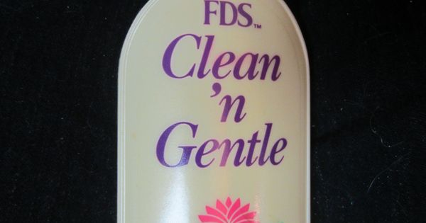 Vintage 1990 Fds Clean N Gentle Blood Stain Remover For