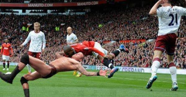 Watch Out It S A Rko Ashley Young Rugby Memes Wrestling Memes