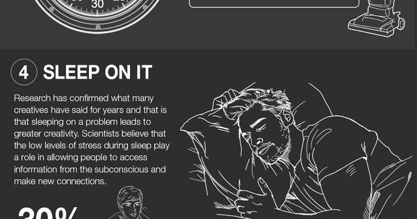 How To Be More Creative #Infographic #Creativity #HowTo