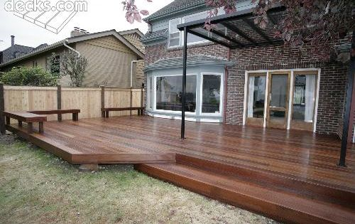 like the overhang too Deck and Patio Pinterest Deck