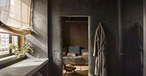 Tendance d co le wabi sabi portes de la salle de bains for Tendance decoration porte
