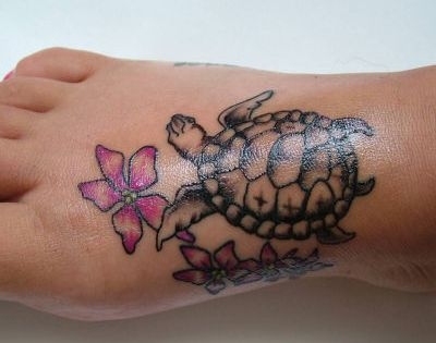 turtle tattoo idea for alex