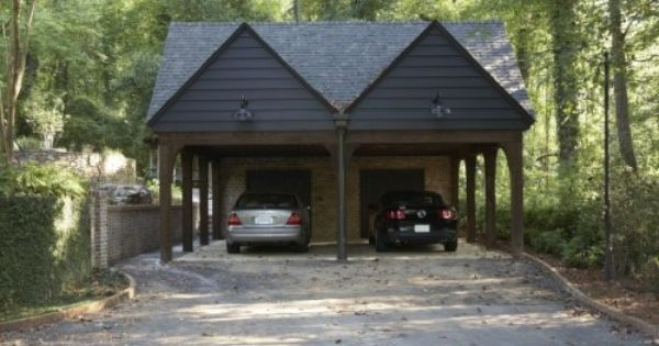 Solid Shelter Contemporary Garage And Shed Birmingham By Structures Inc Contemporary Garage Carport Design Log Cabin Exterior