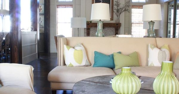 alison baker interior design - watercolor, fl - photo by @kendall11 |  Living Areas | Pinterest