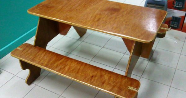 Flat Pack For Storage Plywood Picnic Table Picnic Tables