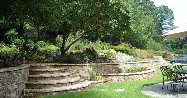rock wooden and allen rock retaining walls in augusta ga