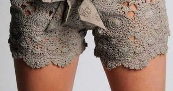 DIY Lovely Crochet Lace Shorts (FREE Pattern) DIY ...