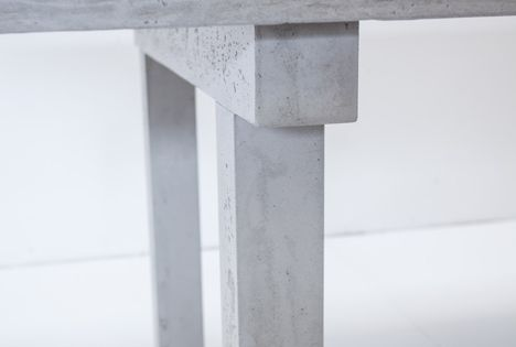 concrete collection by matali crasset for concrete by lcda cement pinterest furniture by. Black Bedroom Furniture Sets. Home Design Ideas