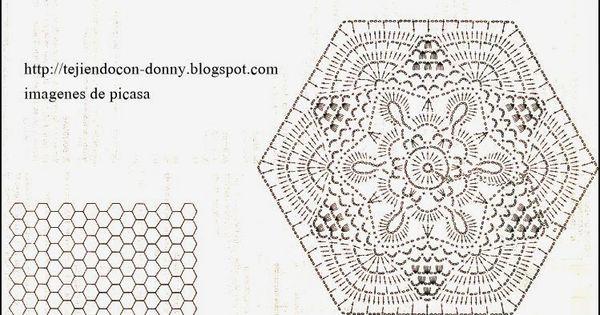 crochet   ganchillo   patrones   graficos colchas o