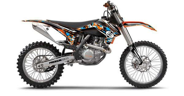 Kit deco de cross ktm freegun camo 450cc sxf 2013 2014 for Decoration chambre ktm