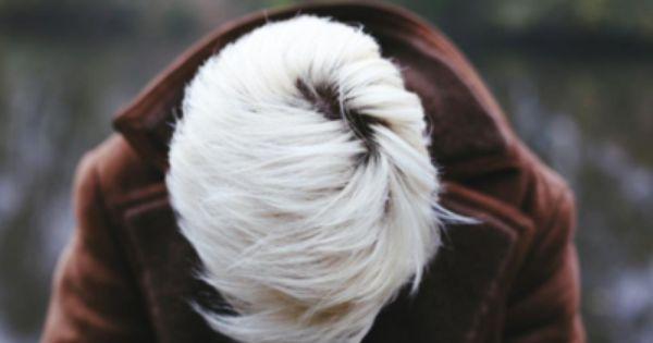 White hair. hair whitehair