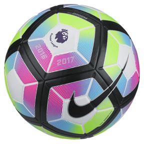 Blue And White Nike Soccer Ball
