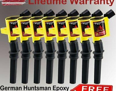 8x High Energy Ignition Coil Pack For Ford F150 F250 F550 4.6//5.4L DG508 Lincoln