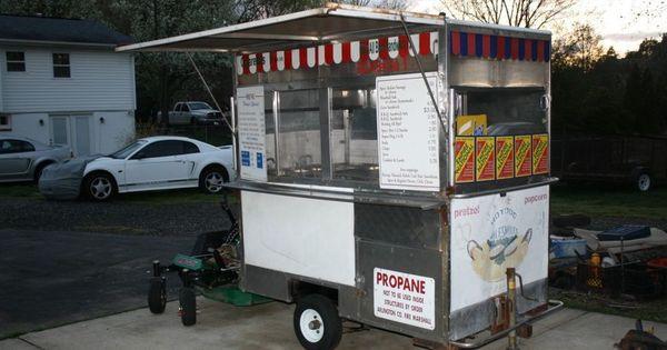 Used Hot Dog Vending Carts Hotdog Carts