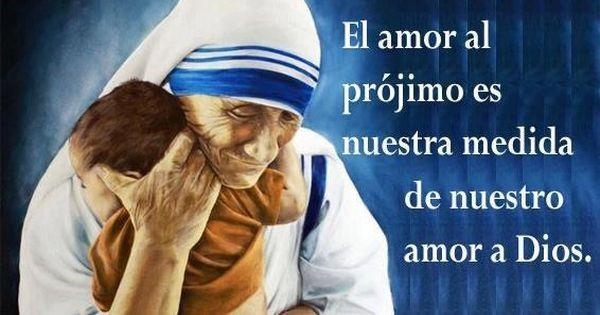 Madre Teresa de Calcuta  Diosito Pins  Pinterest
