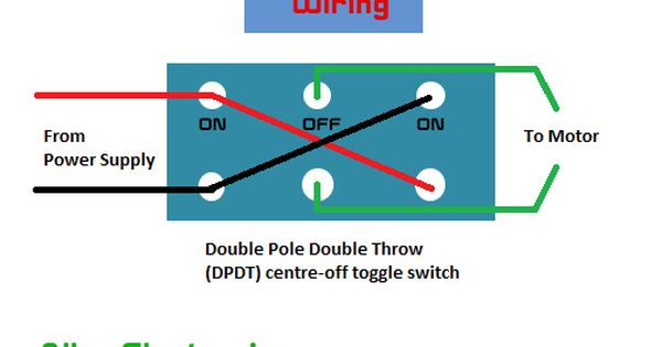 Dc Motor Forward And Reverse Position Using Toggle Switch With Arduino Optional Arduino Toggle Switch Reverse