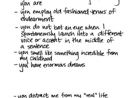 Cute falling in love quote