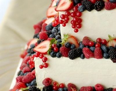 berries, cake, food, fruit, strawberry, wedding cake.