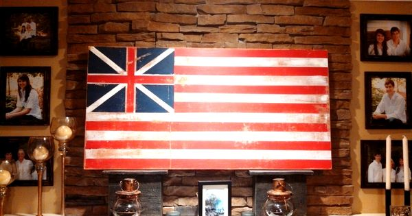 first flag of united states