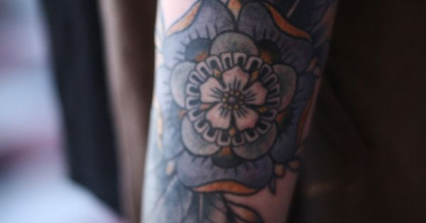 Geometric Tattoos Portland: Geometric Flower Cover Up By Alice Carrier At Anatomy
