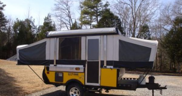 Jk Pearl Fleetwood Evolution Evolution E1 Outdoors Pinterest Folding Campers And Tent